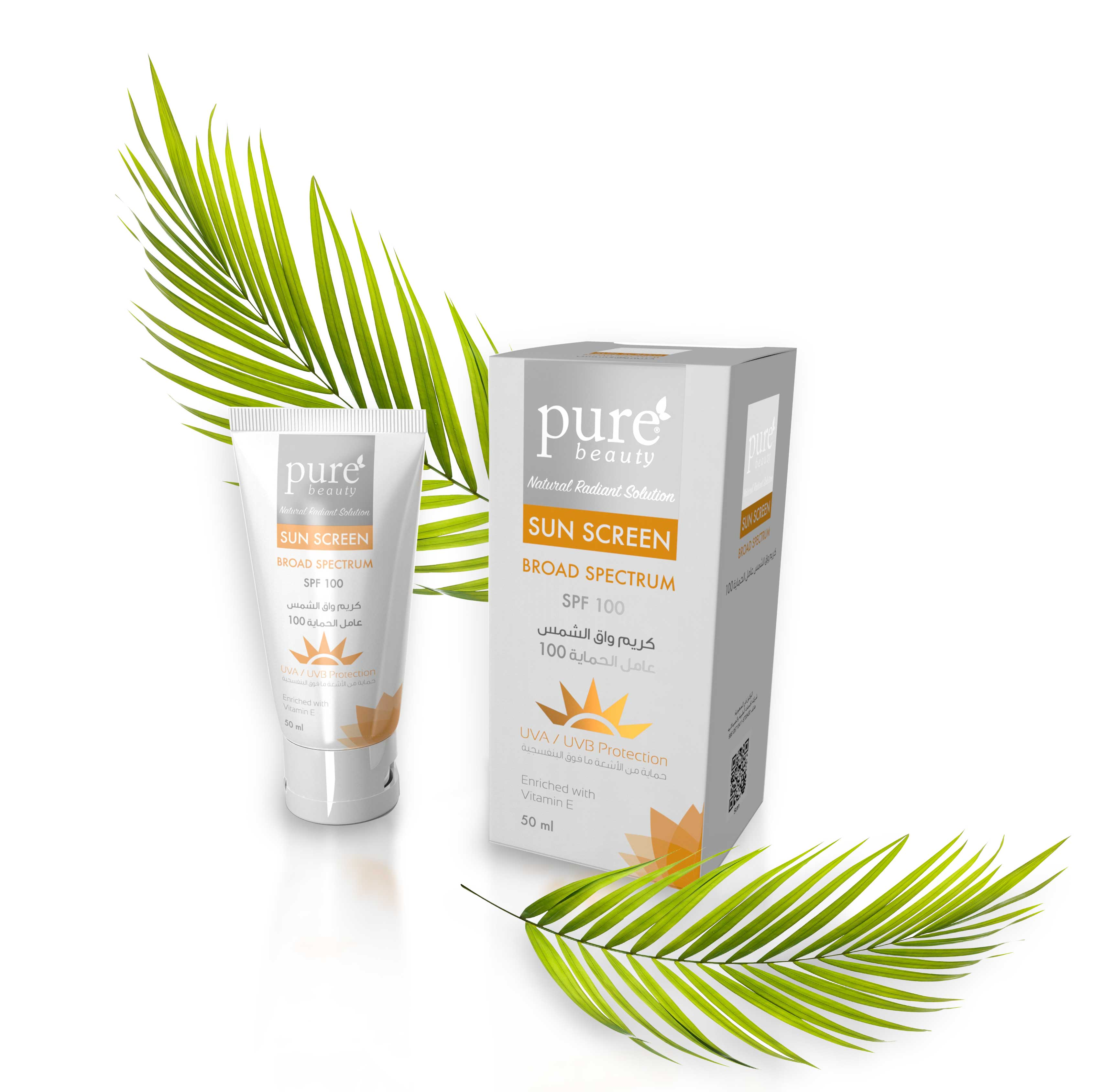 Pure beauty® Sunscreen Cream SPF 100 - 50 ml
